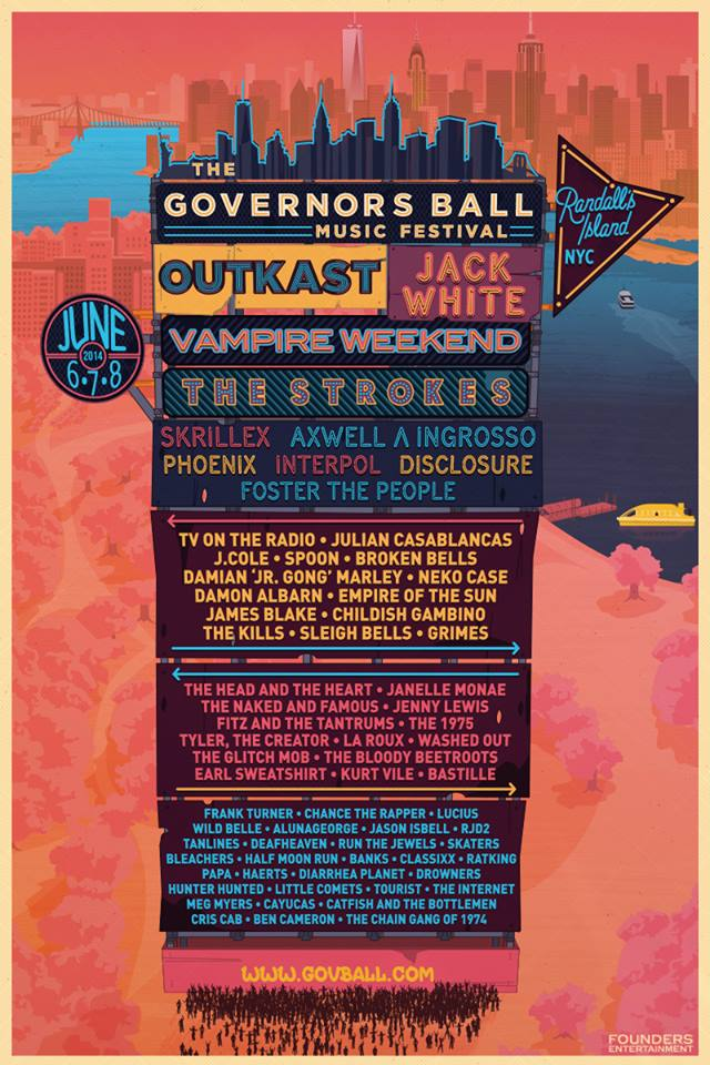 governors ball 2014 Festival of the Year: Governors Ball Music Festival