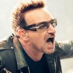 Bono U2 Airplane