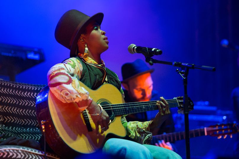 Ms. Lauryn Hill -- Photo by Philip Cosores