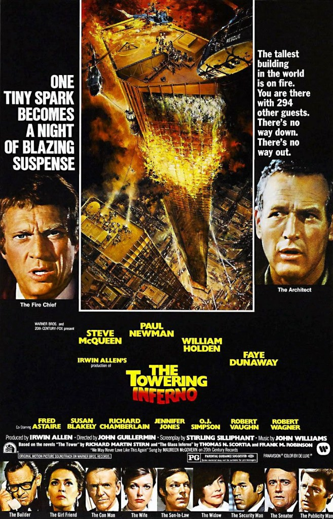 the towering inferno movie poster The 27 Best Film Ensembles: From Boogie Nights to Spring Breakers