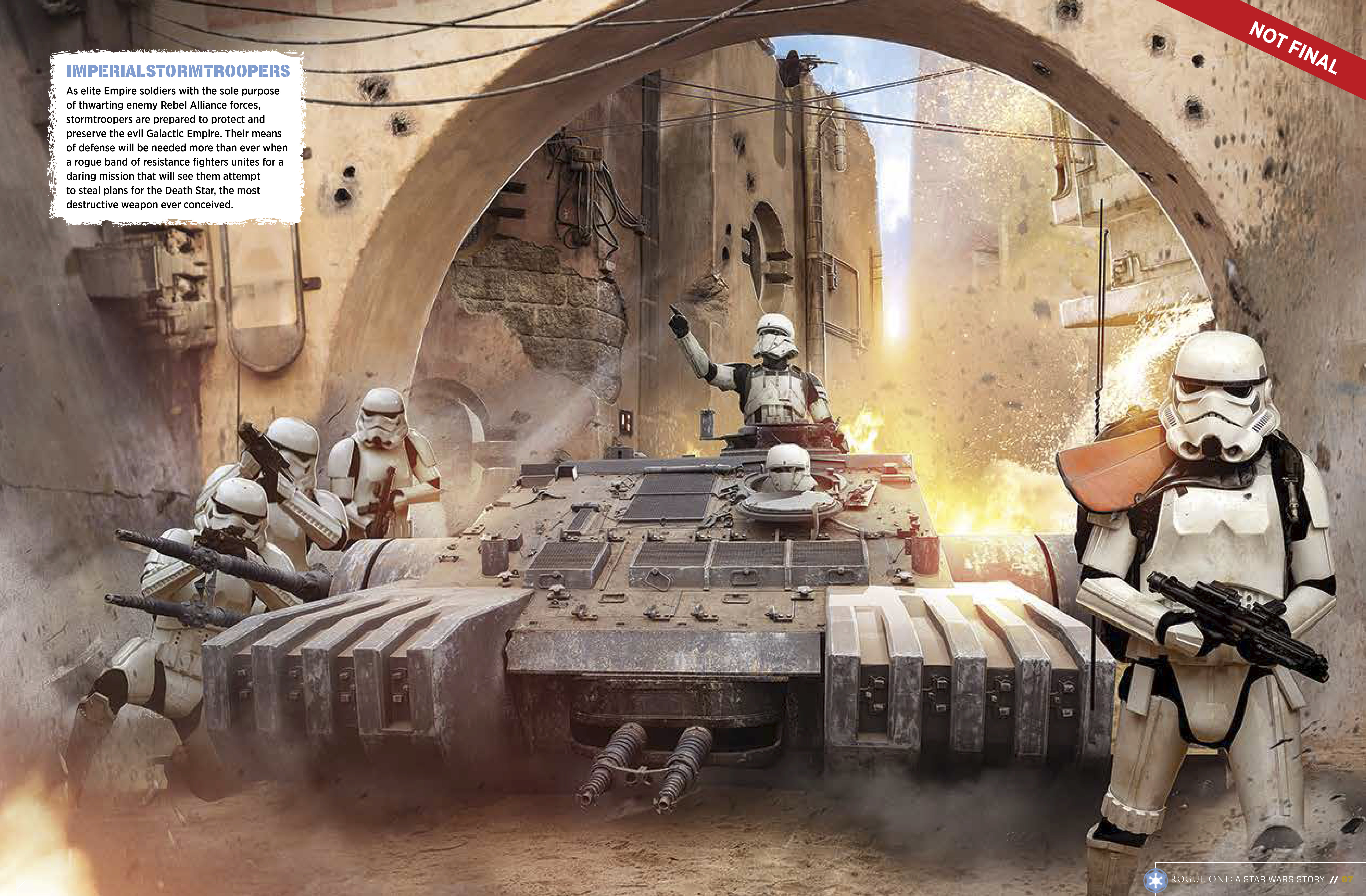 9781942556411 il 4 775e6 Star Wars: Rogue One character details, new ships revealed in leaked visual guide