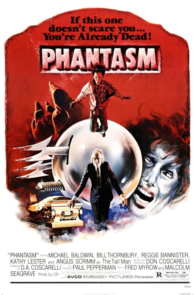 phantasm poster Don Coscarelli on Phantasm, Phanboys, and Pesky Fishing Wire