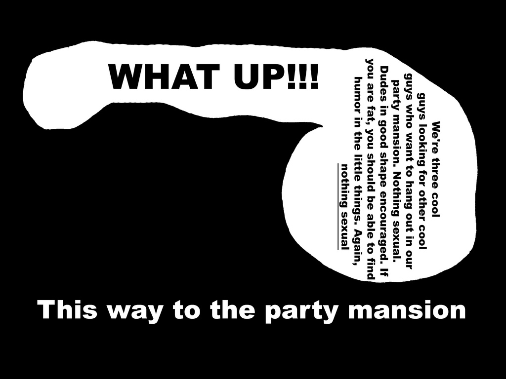 party mansion Macs Long Walk Out of the Closet on Its Always Sunny