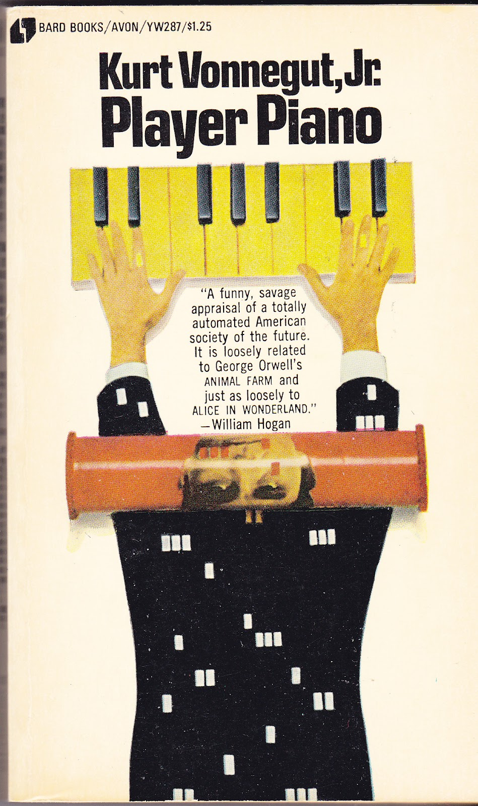player piano 1952 Every Kurt Vonnegut Novel Ranked in Order of Relevance