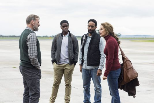 Christopher Eccleston, Jovan Adepo, Kevin Carroll, and Amy Brenneman // The Leftovers