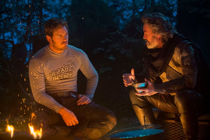 guardians of the galaxy 2 kurt russell chris pratt How Guardians of the Galaxy Vol. 2 Rebukes Star Wars and Harry Potter