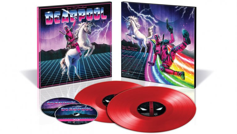 deadpool glamourskew   publicity   h 2017 Deadpool, Logan vinyl and Blu ray/DVD sets coming to San Diego Comic Con