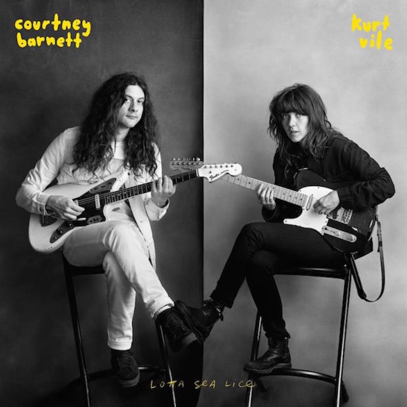 lotta sea lice album cover Courtney Barnett and Kurt Vile release collaborative album Lotta Sea Lice: Stream/Download
