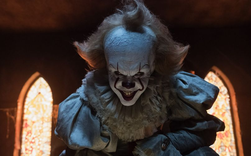 Close Up of Pennywise from 2017s It