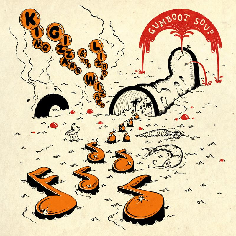 king gizzard King Gizzard & the Lizard Wizard release Gumboot Soup, their fifth and final album of 2017: Stream