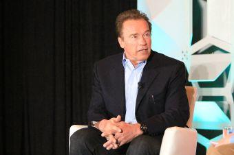 Arnold Schwartzenegger, photo by Heather Kaplan