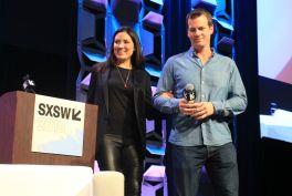 Lisa Joy and Jonathan Nolan // Westworld, photo by Heather Kaplan