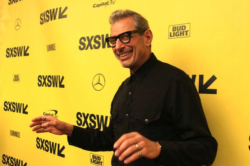 Jeff Goldblum, photo by Heather Kaplan