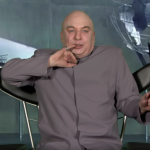 Mike Meyers as Dr. Evil on The Tonight Show