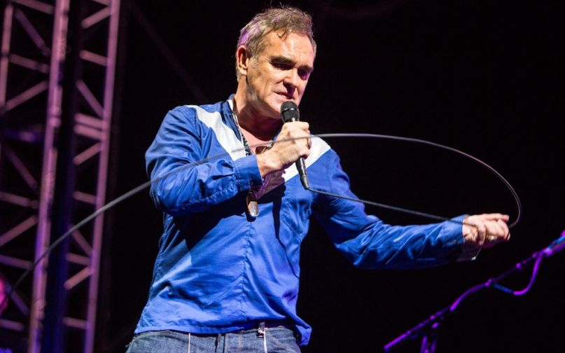 Morrissey, photo by Philip Cosores