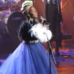 Ms. Lauryn Hill at the 2018 Rock and Roll Hall of Fame induction ceremony
