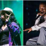 SZA and Kendrick Lamar, photos by Philip Cosores and David Brendan Hall