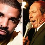 Drake Paul Anka Collaboration Microphone Beard