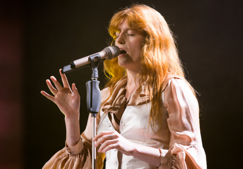 Florence and the Machine, photo by Eric Tra