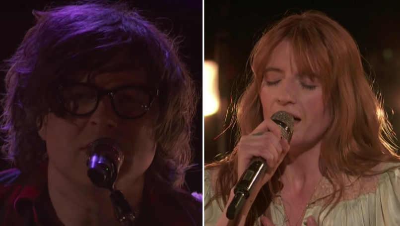 Ryan Adams and Florence & The Machine on The Voice