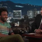 Donald Glover on Jimmy Kimmel Live!
