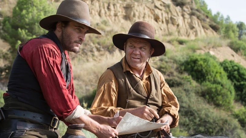 The Sisters Brothers Joaquin Phoenix John C. Reilly Cowboys Western
