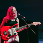 snail mail in concert guitar