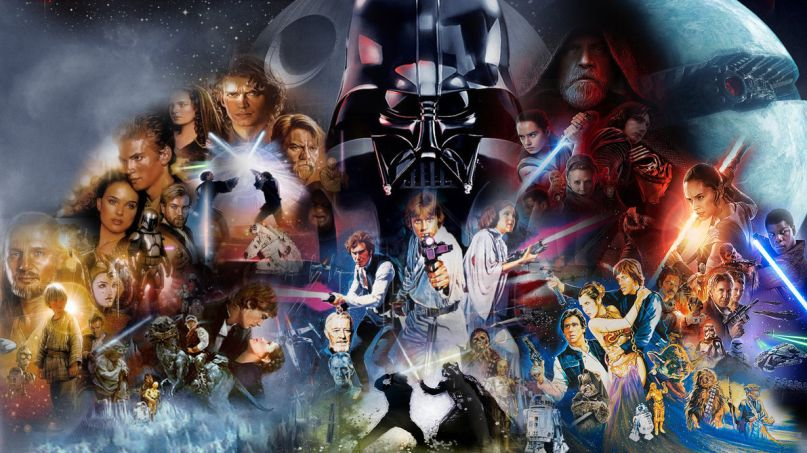 Star Wars Skywalker Saga Collage