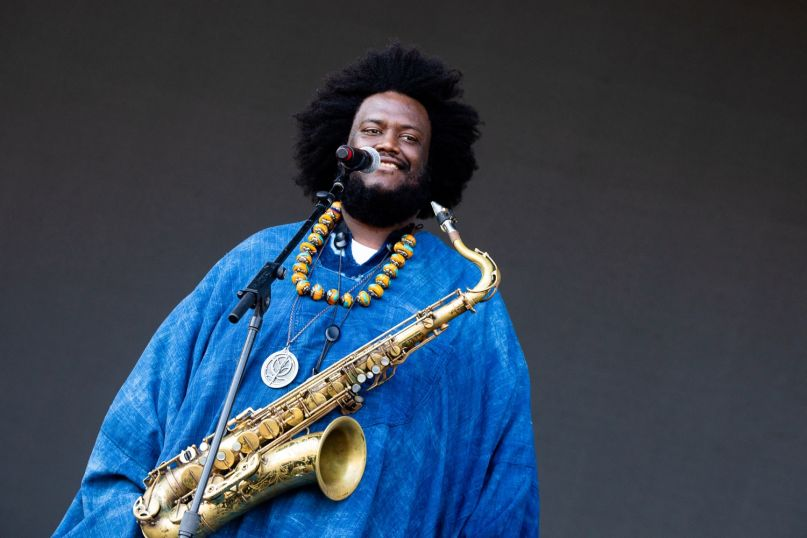 Kamasi Washington, photo by Debi Del Grande