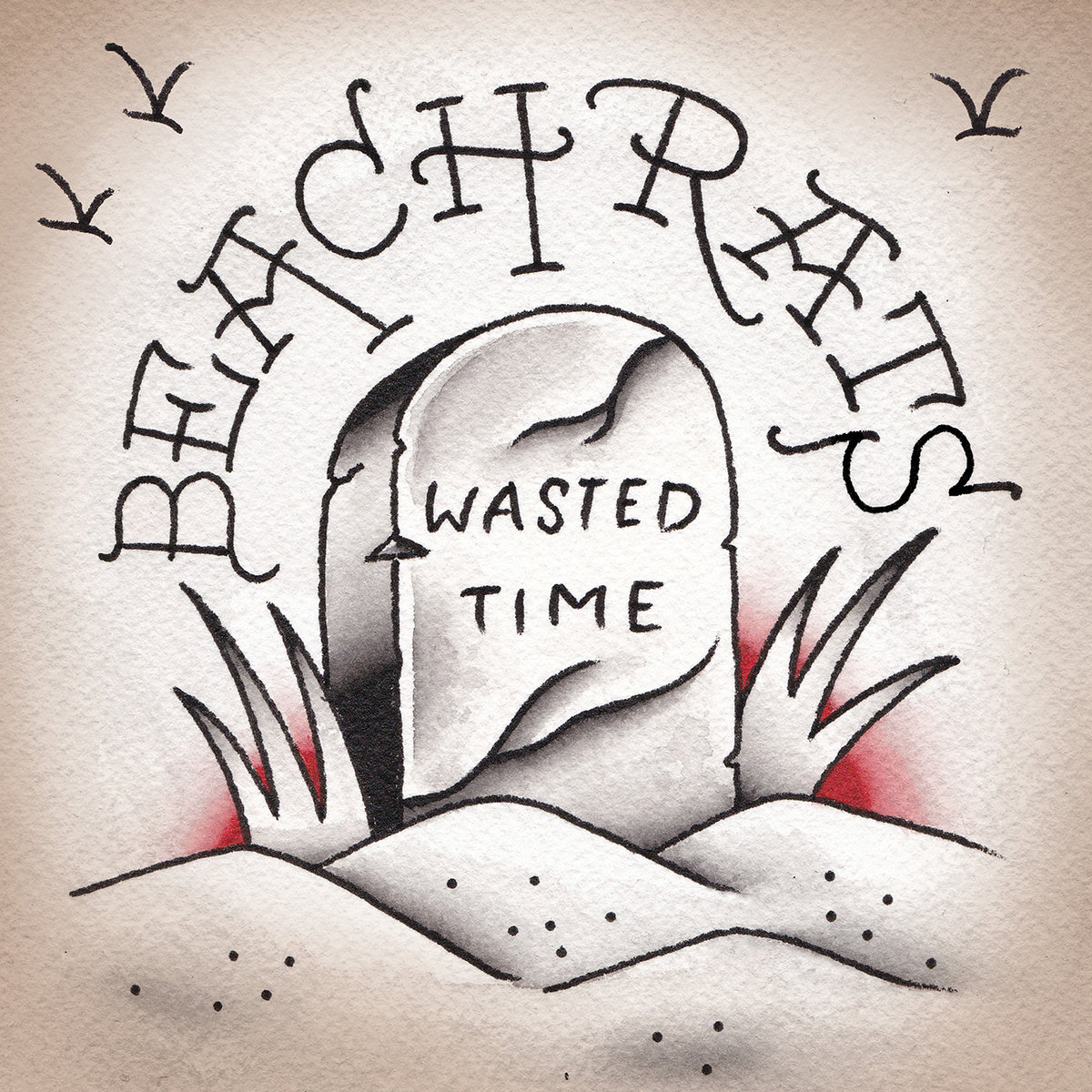 Beach Rats Wasted Time EP cover artwork art