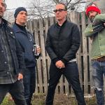 Beach Rats backyard barbecue punk supergroup band