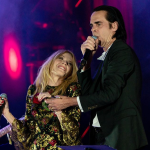 Kylie Minogue and Nick Cave, photo by Raphael Pour-Hashemi
