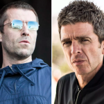 Liam Gallagher (photo by Philip Cosores) and Noel Gallagher Reunion Forgive Tweet