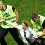 Pussy Riot invade World Cup finale