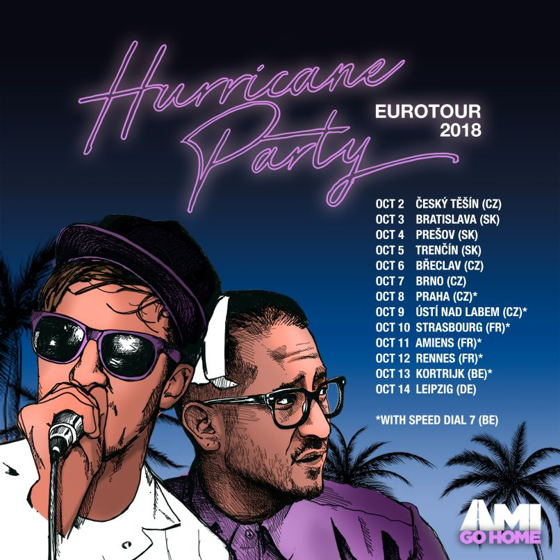 hurricanepartypostersquare Hurricane Party share the Origins of their steamy, party starting new single, LIVN: Stream