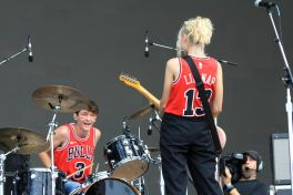 The Regrettes, Lollapalooza 2018, photo by Heather Kaplan