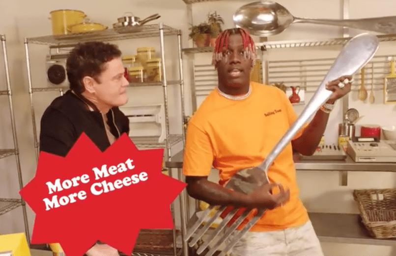 Watch Donny Osmond and Lil Yachty Chef Boyardee Jingle