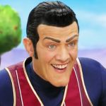 Stefan Karl Stefansson as LazyTown's Robbie Rotten