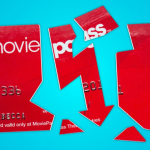 Moviepass price drop three movies per month stock drop broken