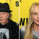 Neil Young and Daryl Hannah, photo by Heather Kaplan