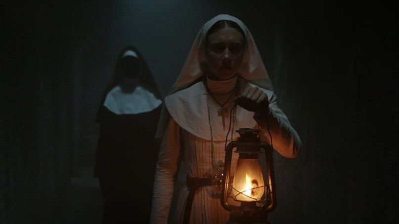 The Nun, Warner Bros. Studios