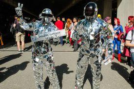 Daft Punk New York Comic Con 2018 Ben Kaye-45