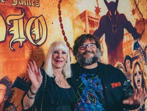 Wendy Dio and Jack Black