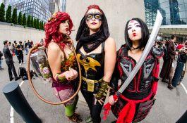 Poison Ivy Batgirl Katana New York Comic Con 2018 Ben Kaye-112