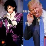 Prince President Donald Trump Purple Rain