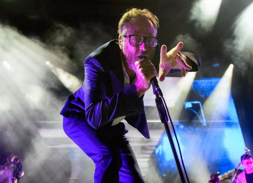 "Watch The National dedicate ""Mr. November"" to Beto O'Rourke"