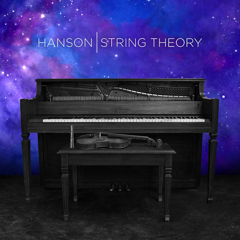 Hanson String Theory Track by Track Album Artwork Cover