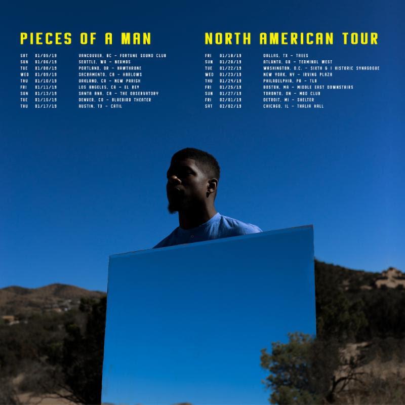 mick jenkins pieces man 2019 tour dates Mick Jenkins announces Pieces of a Man 2019 tour, shares Reginald video: Watch