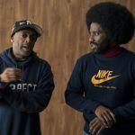 """Director Spike Lee and actor John David Washington, """"BlacKkKlansman"""", Focus Features"""