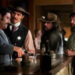 deadwood movie first look photos ian mcshane timothy olyphant
